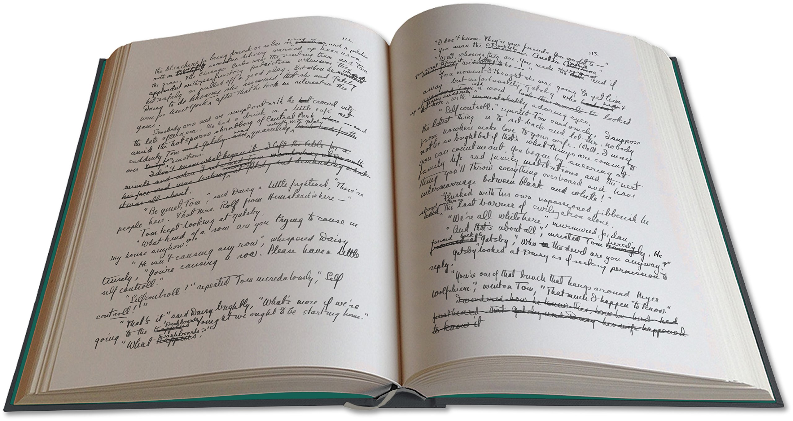 The Great Gatsby (Manuscript) (American) Hardcover - 2017: F. SCOTT FITZGERALD: 9791095457428: Amazon.com: Books