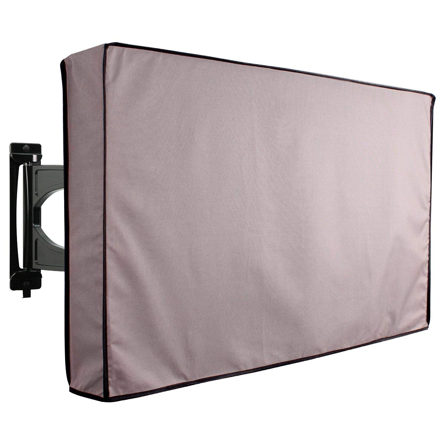 KHOMO GEAR Outdoor TV Cover - Titan Series - Universal Weatherproof Protector for 50 - 52 Inch TV - Fits Most Mounts & Brackets