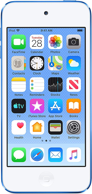 Apple iPod touch (32GB) - Blue (Latest Model) (Renewed)