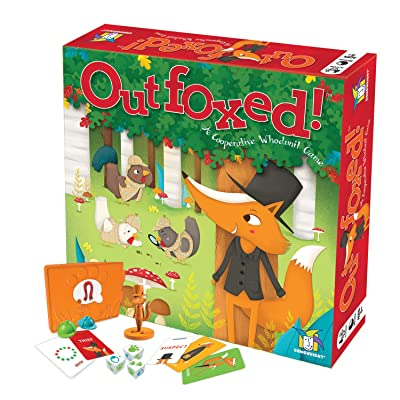 Outfoxed! A Cooperative Whodunit Board Game for Kids 5+: Toys & Games