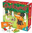 Gamewright Outfoxed! A Cooperative Whodunit Board Game for Kids 5+, Multi-colored, Standard, Model Number: 418