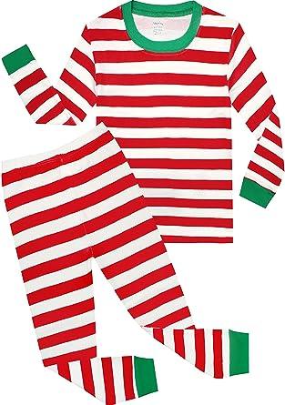 Boys Christmas Pajamas Children Cotton Clothes Kids Pjs Pants Set Red Size  10 Years ac2108cf0
