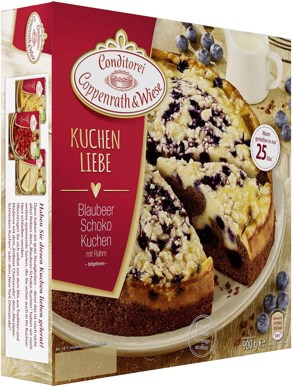 Conditorei Coppenrath Wiese Kuchenliebe Blaubeer Rahm Schoko