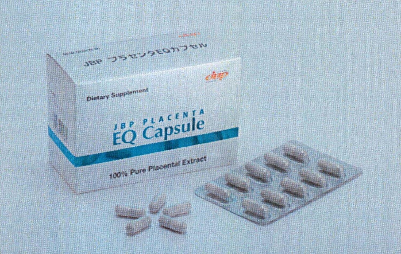 JBPプラセンタEQカプセル 【3箱セット】 馬プラセンタ サプリメント 『ラエンネック』『JBPポーサイン100』の日本生物製剤社 B00P39TLS0