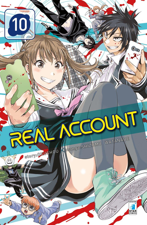 Real account: 10 Copertina flessibile – 7 feb 2018 Shizumu Watanabe Star Comics 8822608836 DISEGNO