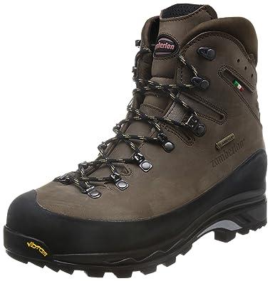 Zamberlan 960 Guide GTX RR - Leather Backcountry Boots - Brown/Dark Brown -  reg