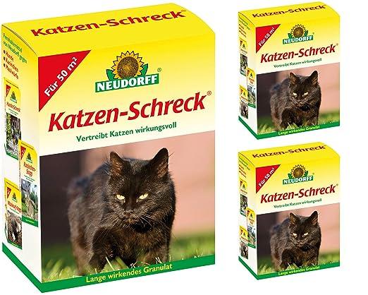 3 x 200 g Neudorff Gatos Ahuyentador de animales salvajes ...