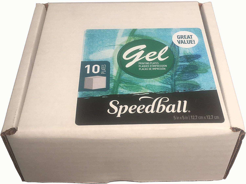 Gelli Arts Gel ronda placa de impresión