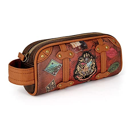Karactermania Harry Potter Railway Estuches, 20 cm, Marrón