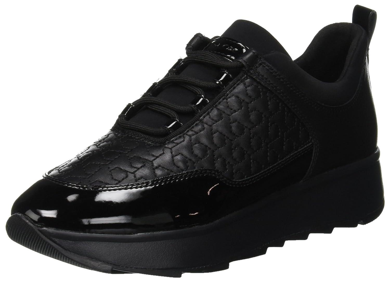 Geox D Gendry C, Zapatillas para Mujer 41 EU (Black C9999)