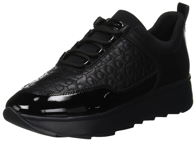 Geox Gendry Damen D Gendry Geox C Sneaker Schwarz (schwarz C9999) 301f79