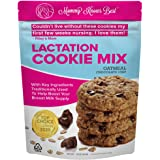 Lactation Cookies Mix - Oatmeal Chocolate Chip Breastfeeding Cookie Supplement Support for Breast Milk Supply Increase - 16 o