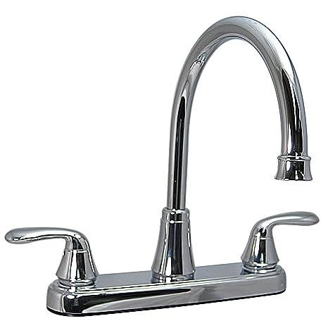 Phoenix PF231302 Two-Handle Kitchen High-Arc Faucet, Chrome on replace tub faucet mobile home, faucet repair mobile home, phoenix mobile home plumbing parts, sterling tub faucet mobile home,