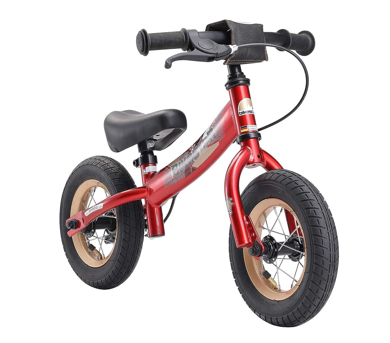 rouge  BIKESTAR Vélo Draisienne Enfants Garcons Filles de 2-3 Ans   Vélo sans pédales évolutive 10 Pouces Sportif