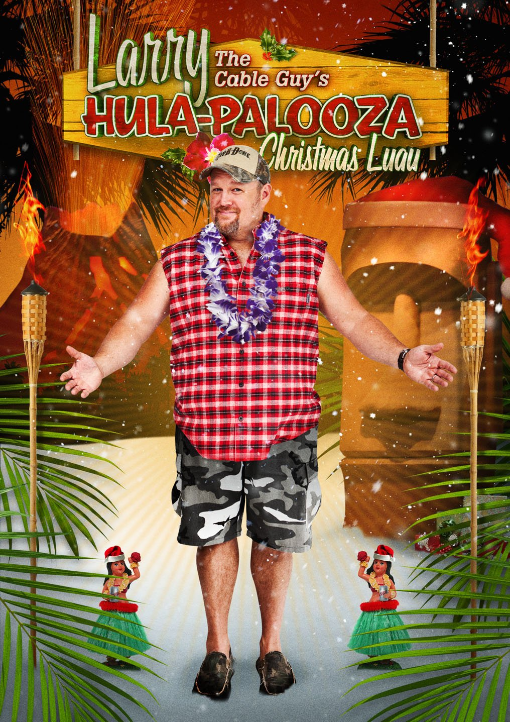 Amazon.com: Larry the Cable Guy's Hula-Palooza Christmas Luau ...