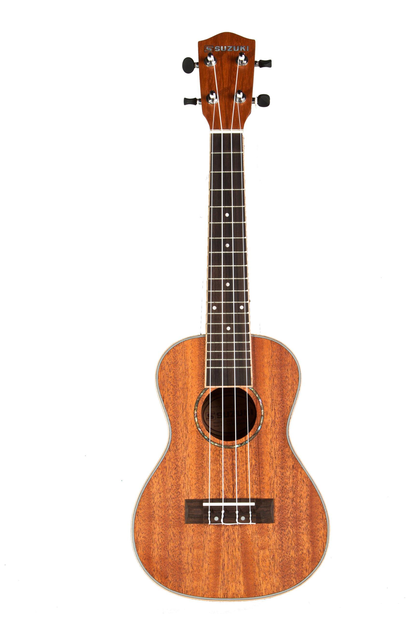Suzuki Musical Instrument Corporation UKCMB-MH Ukulele, Mahogany