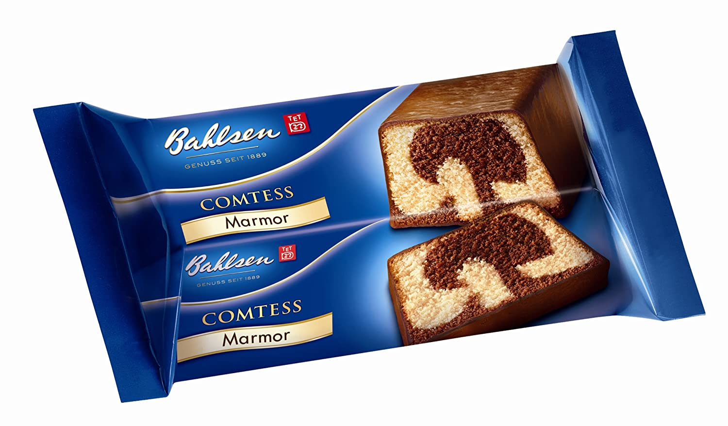 Bahlsen Comtess Marmor Kuchen 2er Pack 2 X 400 G Packung Amazon