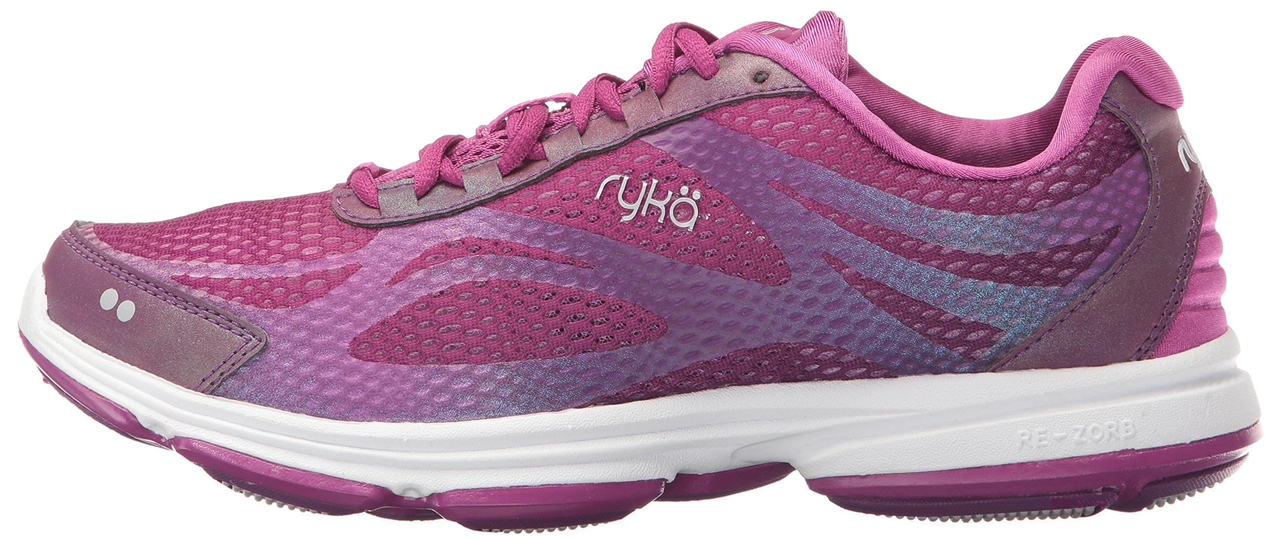 Ryka Women's Devotion Plus 2 Cross Trainer,Grape Juice/Vivid Berry/Chrome Silver by Ryka (Image #5)