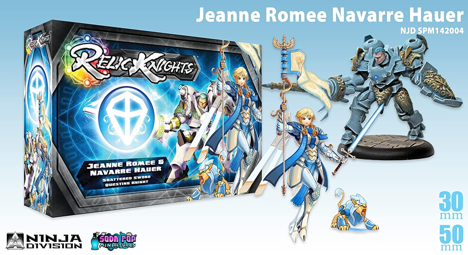 Relic Knights: Dark Space Calamity: Jeanne Romee Navarre ...