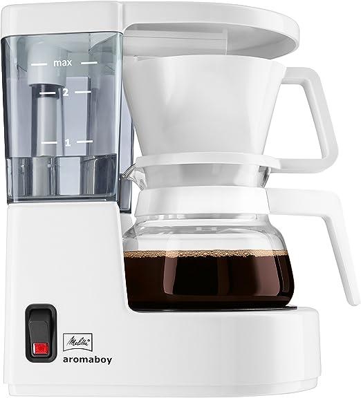 Melitta Cafetera de filtro con jarra de vidrio, Para 2 tazas de ...