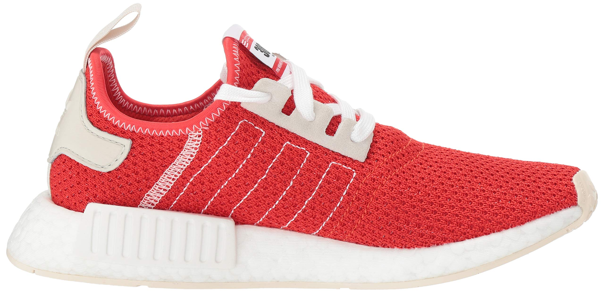adidas Originals Men's NMD_R1 Running Shoe, Active red/Ecru Tint, 4 M US by adidas Originals (Image #7)