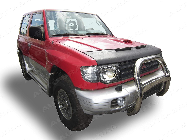 AB-00821 PROTECTOR DEL CAPO PAJERO - SHOGUN - MONTERO 1990-2000 Bonnet Bra TUNING: Amazon.es: Coche y moto