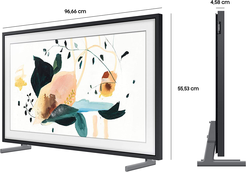 Samsung Qled 4k The Frame 108 Cm 43 Zoll Art Mode Qled Technologie Active Voice Amplifier Modelljahr 2020 Heimkino Tv Video