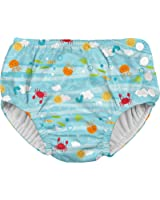 i play. Baby Boys' Snap Reusable Absorbent Swim Diaper-Fs