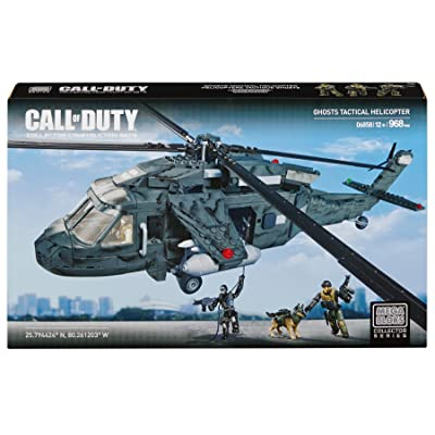 Mega Bloks Call of Duty Ghosts Tactical Helicopter: Toys & Games [5Bkhe0303331]