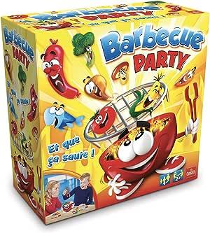 Goliath 30630.006 Barbecue Party - Juego de Mesa (en francés), diseño de Barbacoa: Amazon.es: Juguetes y juegos