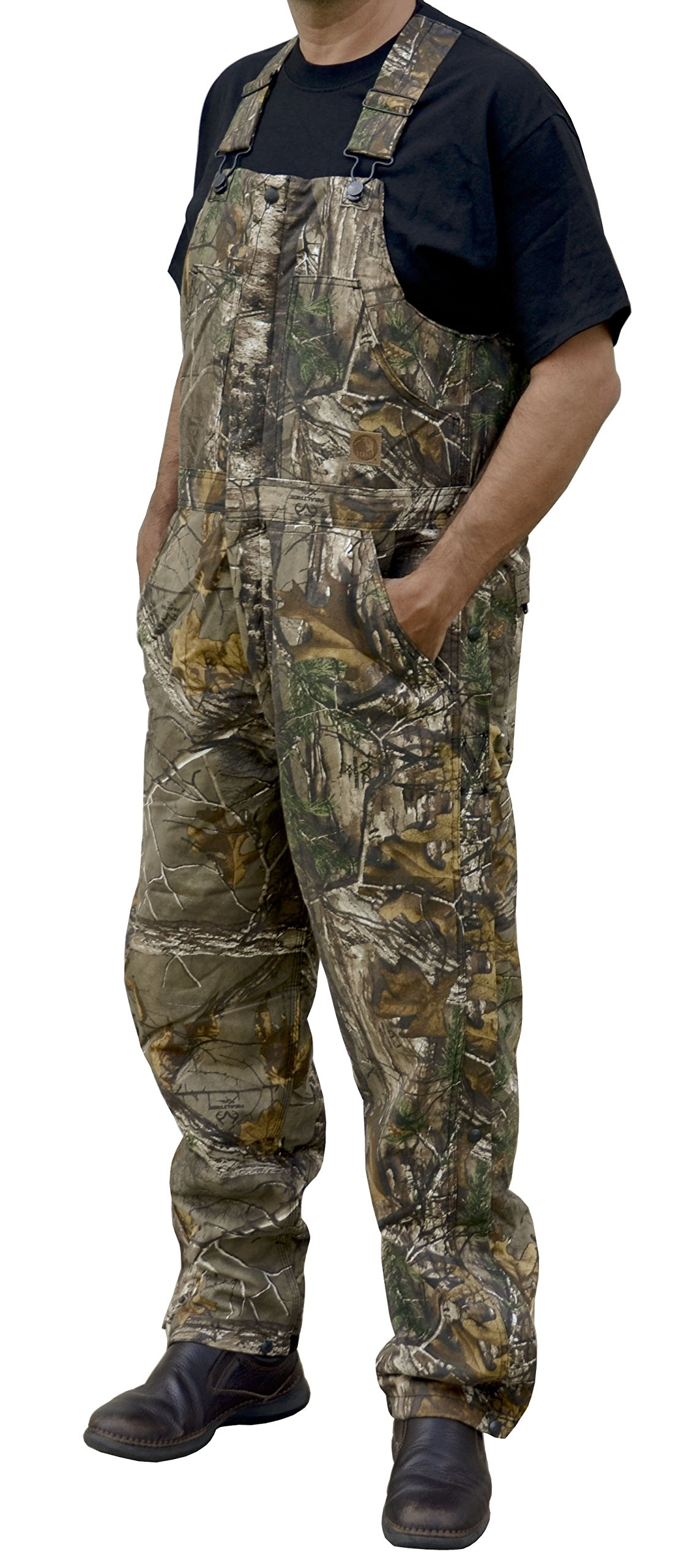 Berne Big and Tall Realtree Xtra Insulated Camo Bib Overall (CAMOFLAUGE 8X)