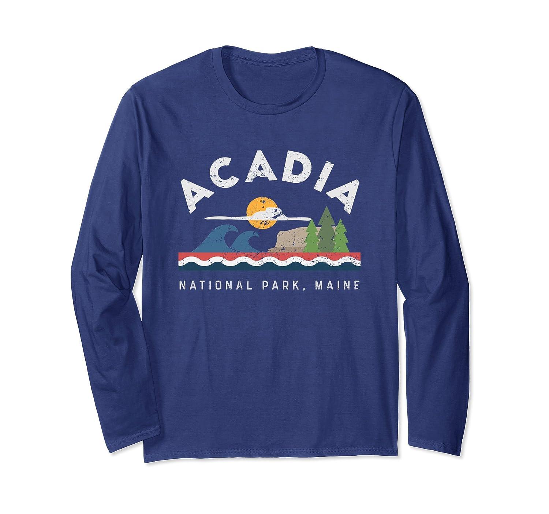 Acadia National Park Maine Longsleeve T Shirt-ah my shirt one gift