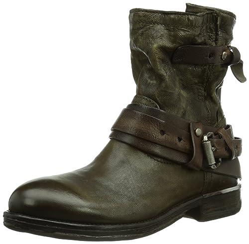 A.S.98 Damen 708203 8080 8738 Biker Boots, Braun (foglia+