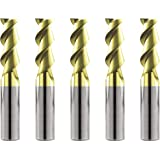 "3//16/""DIA 3 Flute SE HP Carbide End Mill X-Long ZRN 37 Degree Helix"