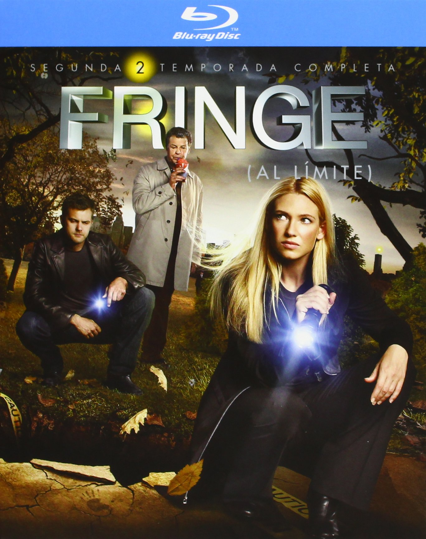 TV- FRINGE S2 - BD (European Region B2) by