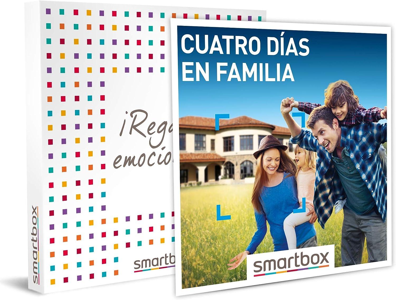 SMARTBOX - Caja Regalo hombre mujer pareja idea de regalo - Cuatro días en familia - 337 estancias en hoteles, casas rurales y mucho más: Amazon.es: Deportes y aire libre