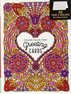 Color Your Own Greeting Cards 30 Envelopes For Every Occasion