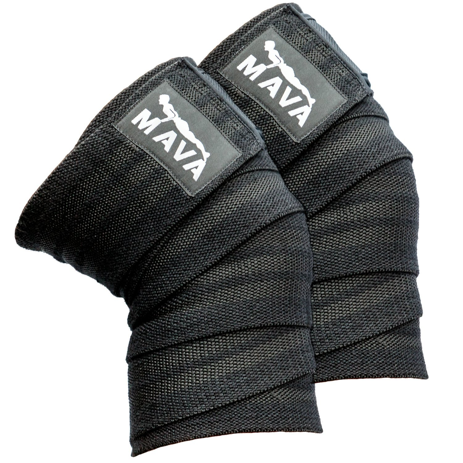 Mava Sports Knee Wraps (Pair) for Cross Training WODs