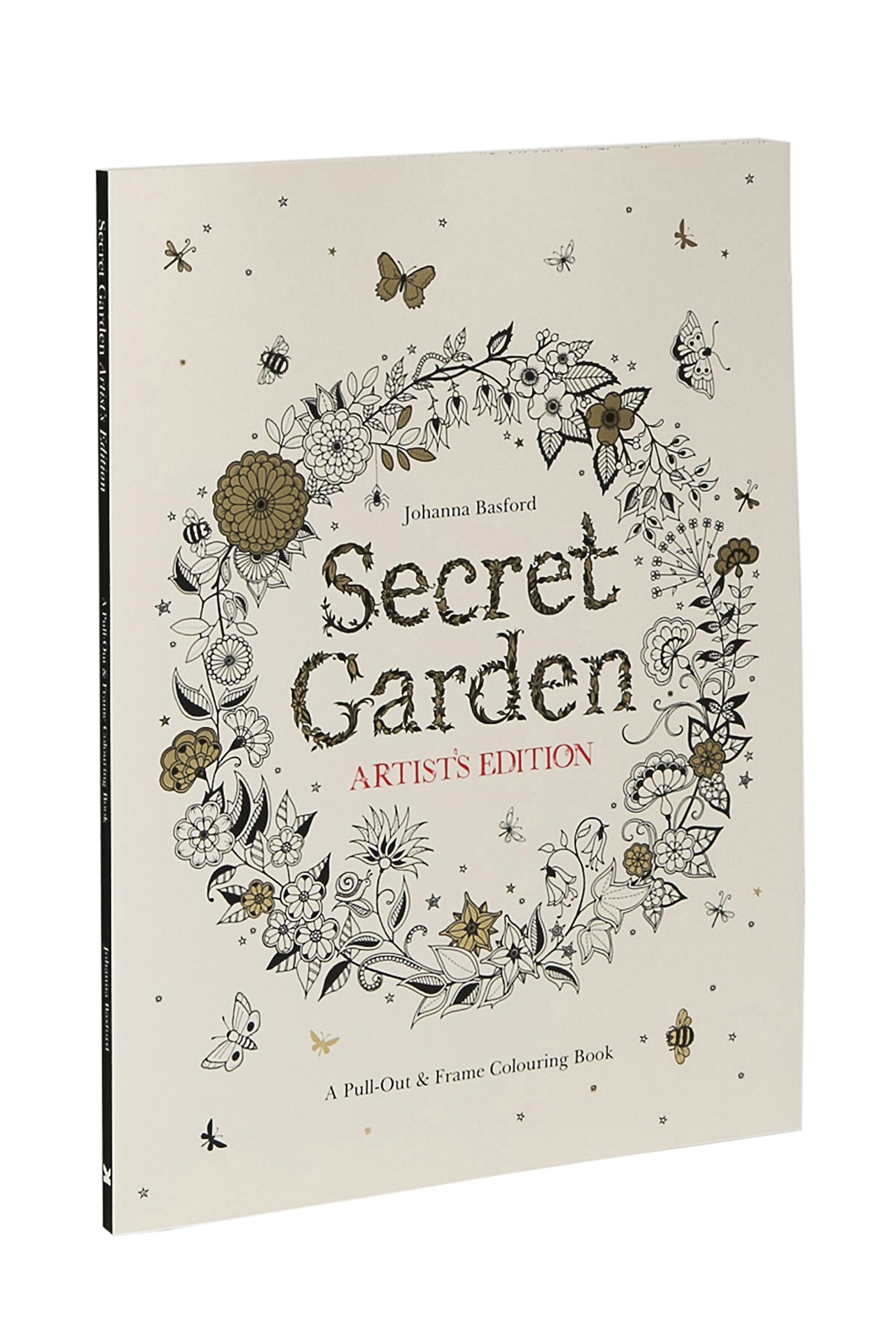 Secret Garden Artists Edition A Pull Out Frame Colouring Book Amazoncouk Johanna Basford 9781780677309 Books