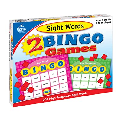 Sight Words Bingo: Game: Toys & Games