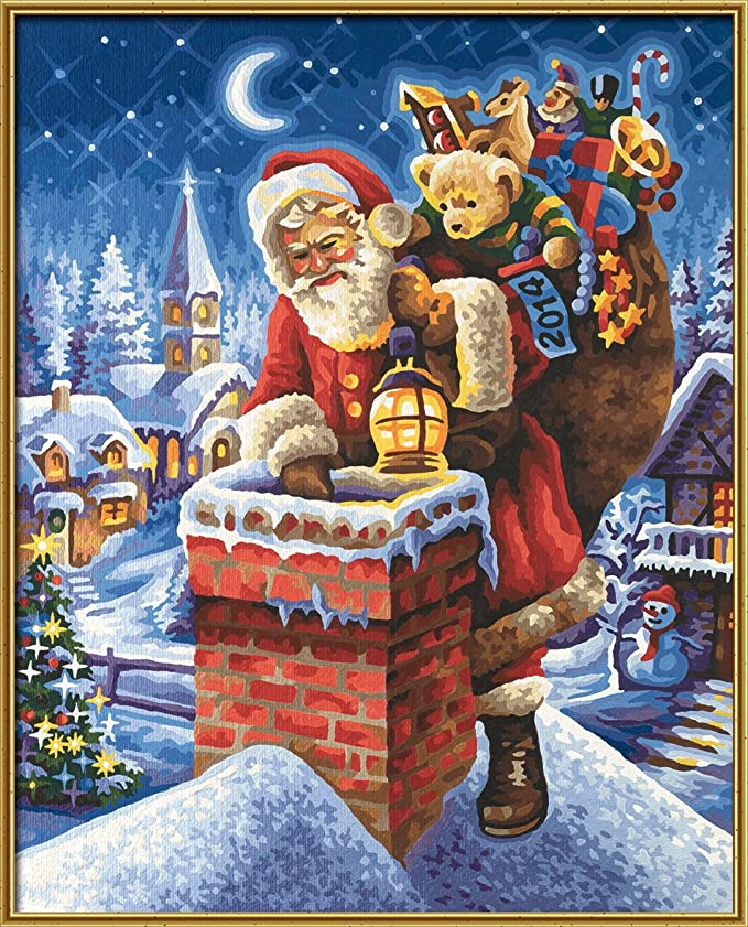 Weihnachtsbilder Gemalt.Mnz Christmas Picture 2014 Amazon Co Uk Baby