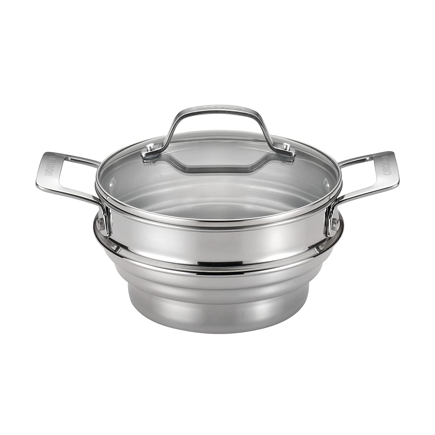 Circulon Stainless Steel Universal Steamer with Lid Meyer 70135