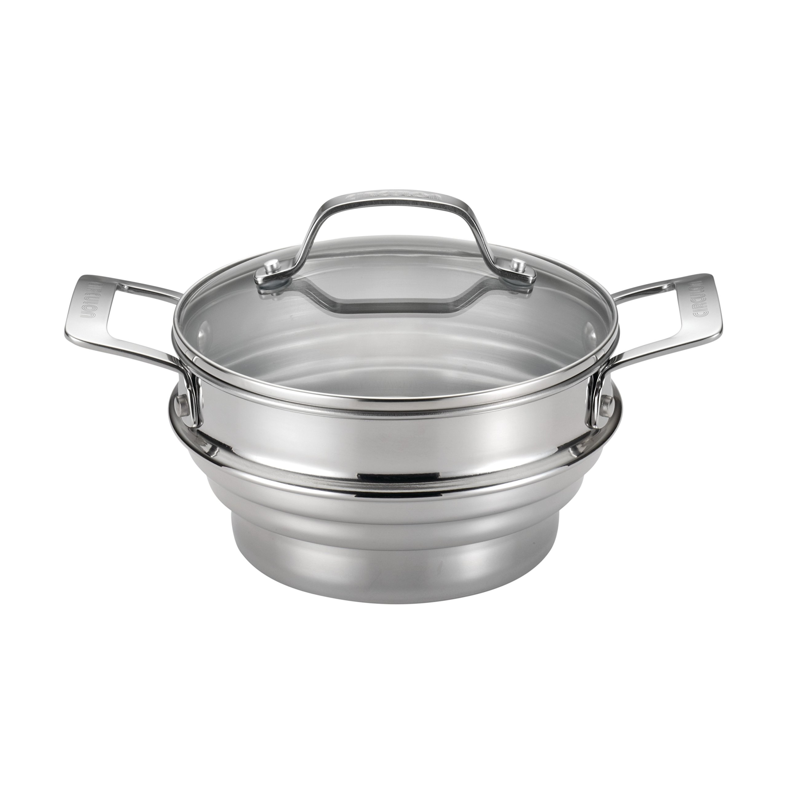 Circulon Stainless Steel Universal Steamer with Lid by Circulon
