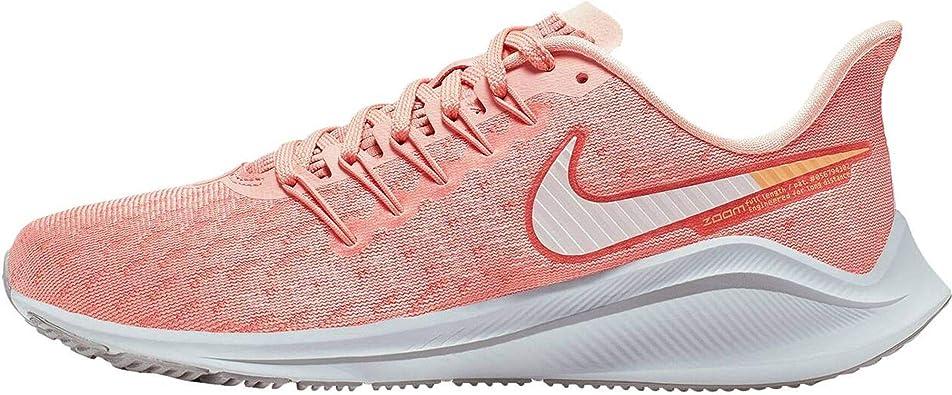 Nike Air Zoom Vomero 14, Zapatillas de Trail Running Mujer, Rosa Blanco, 42.5 EU: Amazon.es: Zapatos y complementos