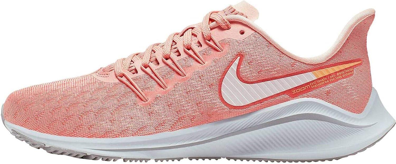 Nike Air Zoom Vomero 14, Zapatillas de Trail Running para Mujer, Rosa Blanco, 42.5 EU: Amazon.es: Zapatos y complementos