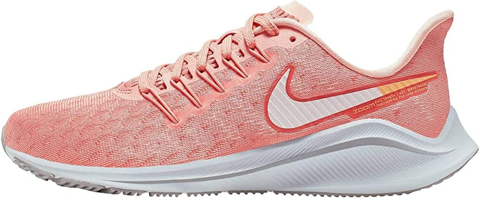 Nike Air Zoom Vomero 14, Zapatillas de Trail Running para Mujer, Rosa Blanco, 42.5 EU: Amazon.es: Zapatos y complementos