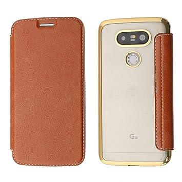 Funda LG G5, Coodio LG G5 Funda Cuero Billetera, Carcasa en ...