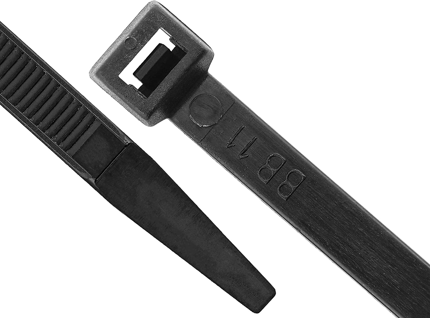 13 1//2 Inch Black Cable Tie 100 Pack