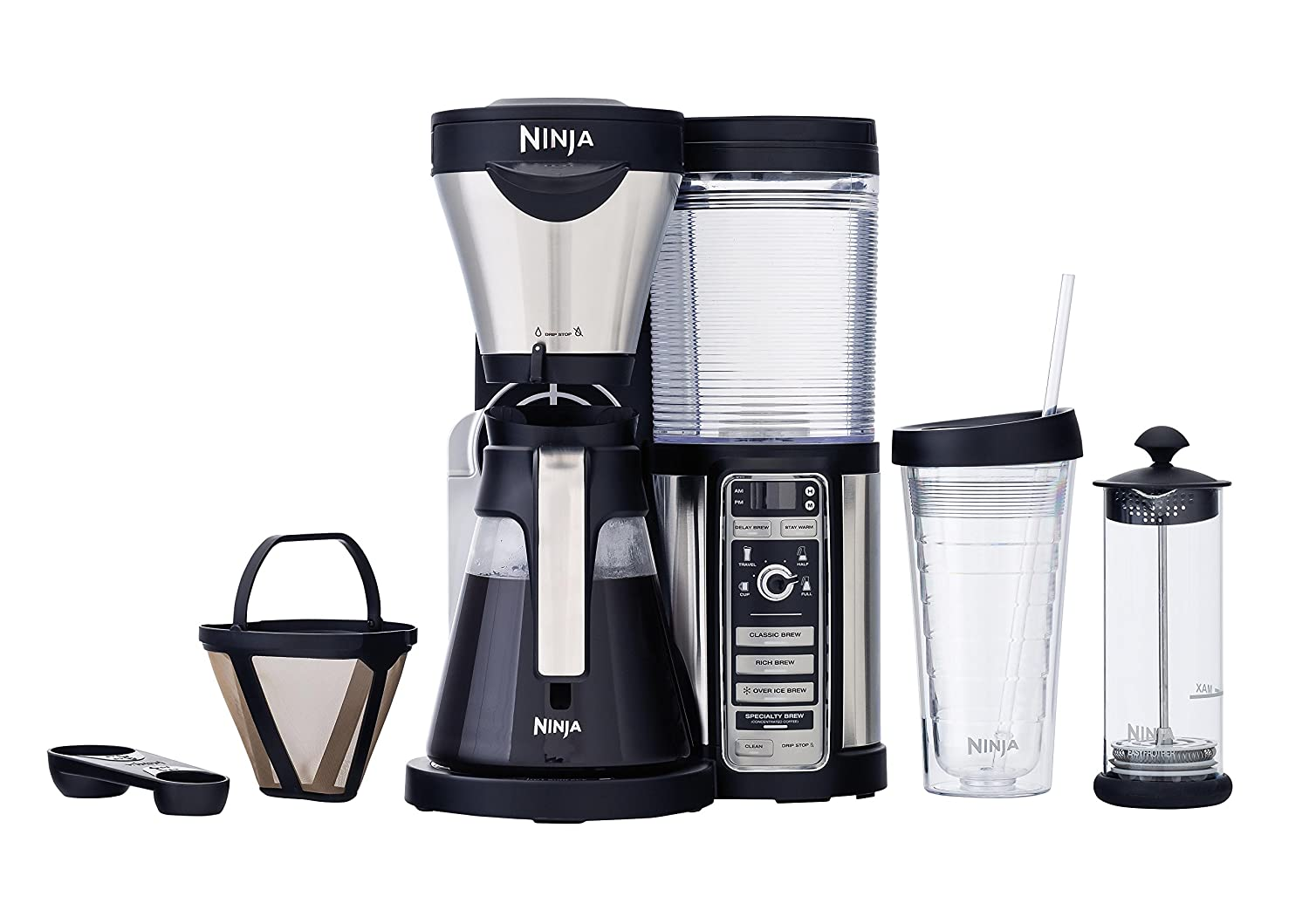 Keurig coffee makers at bed bath and beyond - Amazon Com Ninja Coffee Bar Brewer Glass Carafe Cf082 Kitchen Dining