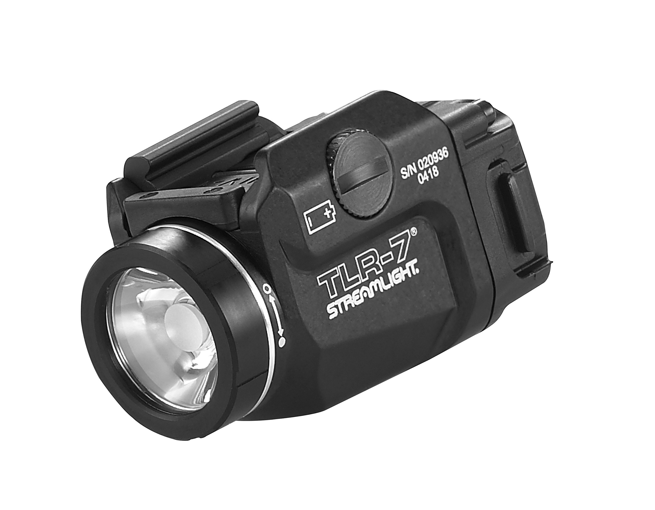 Streamlight 69420 TLR-7 Low Profile Rail Mounted Tactical Light, Black - 500 Lumens by Streamlight